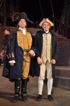 Captain Smollet and Tom Morgan