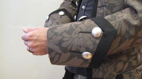 Coat, cuff detail