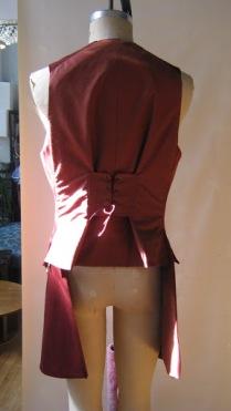Waistcoat, back view