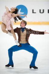 Madison Chock & Evan Bates, Team USA Ice Dance - October 2013