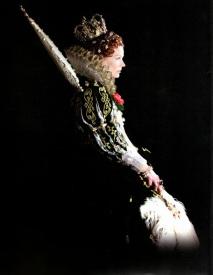 Queen Elizabeth I in the perennial outdoor drama The Lost Colony, Roanoke, North Carolina