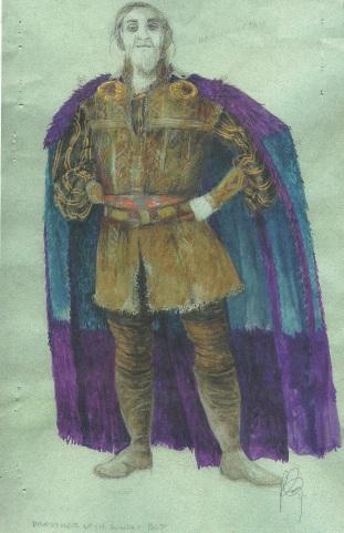 Martin Pakledinaz's design for the King Dubhdara