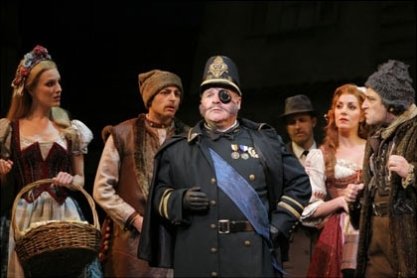 Fred Applegate as Inspector Kemp in Young Frankenstein on Broadway