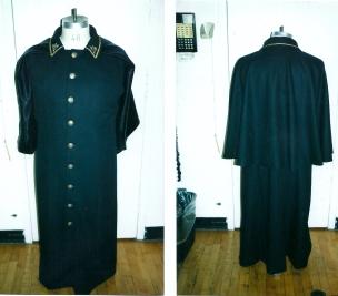 Kemp's matching uniform caped-inverness