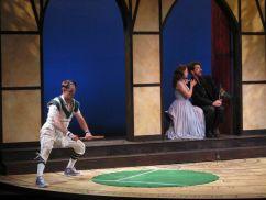 Wittenberg University tennis match-Hamlet vs. Laertes