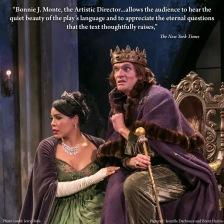 Queen Marie (Jesmille Darbouze) and King Berenger (Brent Harris)